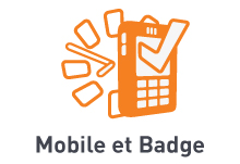 Mobile et Badge